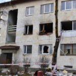 Дом в Кунда, где произошел взрыв газа. Фото: ERR .